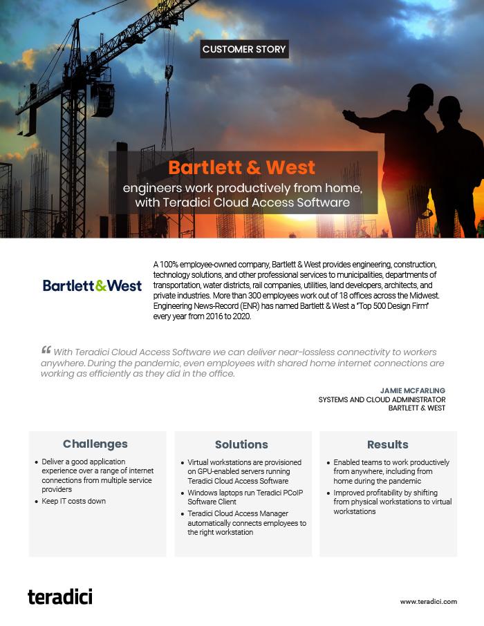 Bartlett & West Customer Story PDF