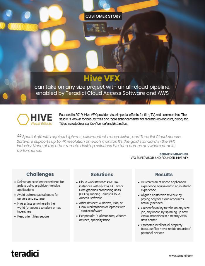 Hive VFX PDF thumbnail